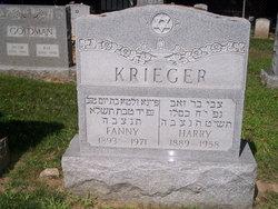 Fanny <i>Schoenberg</i> Krieger