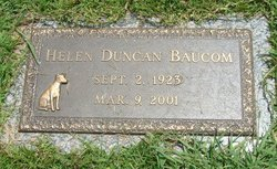 Helen Virginia <i>Duncan</i> Baucom