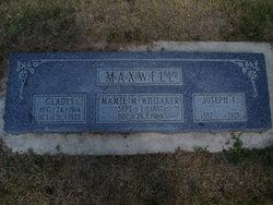 Mamie Amanda <i>Garrard</i> Maxwell Whitaker