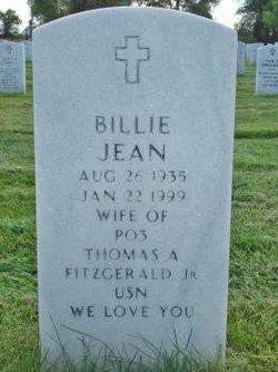 Billie Jean <i>Andrews</i> Fitzgerald