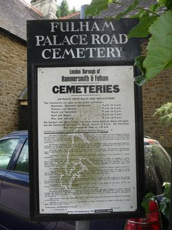 Fulham Palace Road Cemetery