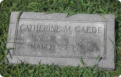 Catherine M <i>Mullen</i> Gaede