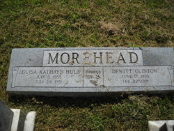 Louisa Catherine <i>Hulse</i> Morehead