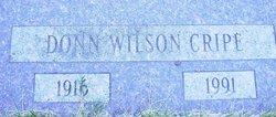 Donn Wilson Cripe
