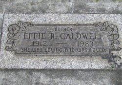 Effie Rachel <i>Brown</i> Caldwell