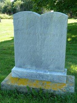 Martha Hannah <i>Weston</i> Scott