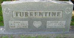 Minnie C <i>Atwell</i> Turrentine Atwell
