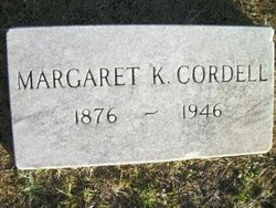 Margaret C <i>Key</i> Cordell