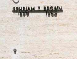Ephraim T. Brown