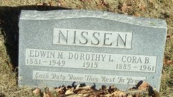 Cora B Nissen