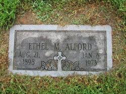 Ethel Margaret Alford