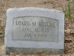 Louis Medford Riddle