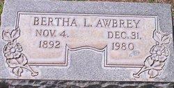 Bertha L. Awbrey
