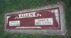 Marvin W Allen