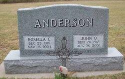John O Anderson
