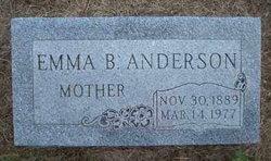 Emma B <i>Danielson</i> Anderson