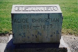Alice <i>Christian</i> Beamer