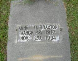 Anna O. Braxton