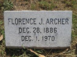 Florence J. Archer