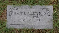 Dr Platt Livingston Allen, Sr