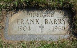 Franklin A. Frank Barry