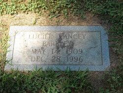 Lucille <i>Yancey</i> Barkley