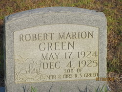 Robert Marion Green