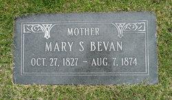 Mary <i>Shields</i> Bevan