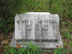 Henry C Ballentine