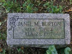 Janie Mae <i>Brice</i> Burton