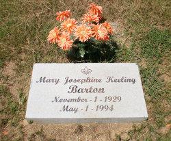 Mary Josephine <i>Keeling</i> Barton