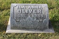 Ila Anna <i>Collier</i> Oliver
