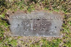 Elizabeth Bates Bessie <i>Bolles</i> Bellamy