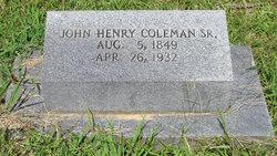 John Henry Coleman