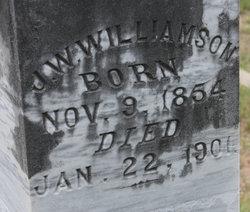 John Washington Wash Williamson