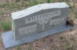 Rebecca Vannie <i>Graham</i> Williamson