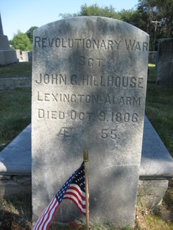 Sgt John Griswold Hillhouse, Sr