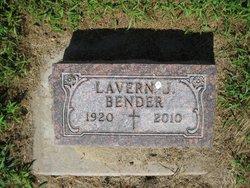 Lavern Joseph Bud Bender