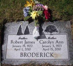 Robert James Broderick