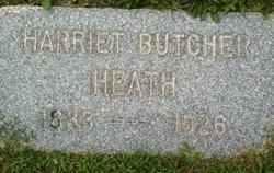 Harriet <i>Butcher</i> Heath
