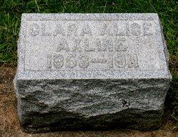 Clara Alice <i>McMillan</i> Axline