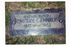 Caroline E.J. Carrie Hamlin