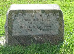 Nancy Genevera Lickey