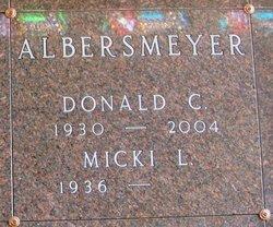 Donald C Albersmeyer