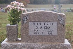 Ruth Walleah <i>Lovell</i> Staires