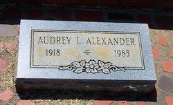 Audrey L. Alexander