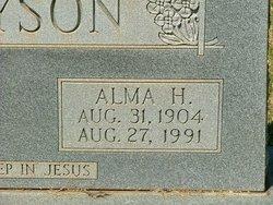Alma H Bryson
