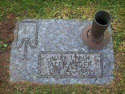 Mary <i>Urban</i> Alexander