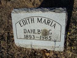 Edith Maria Dahlberg