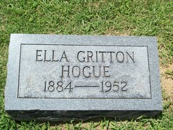 Ella Thomas <i>Gritton</i> Hogue